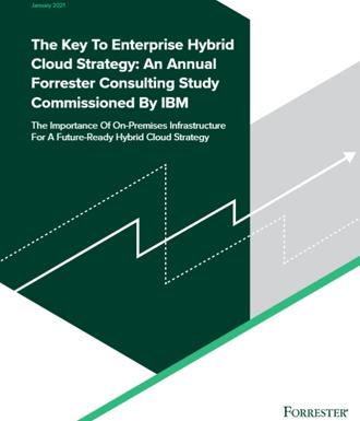 The Key to Enterprise Hybrid Cloud Strategy